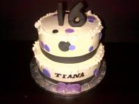 Special Occassion cake - Sweet 16