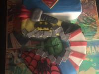 Custom Comic Book Cake