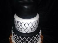 Groomsmen Wedding Cake