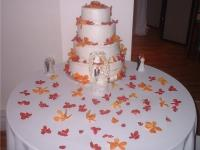 Carrot Cake Wedding Cake
