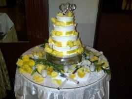 Vegetarian Wedding Cake