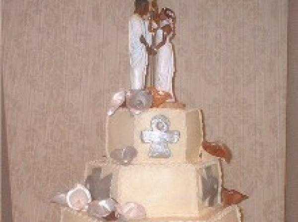 Ethnic Wedding Cake