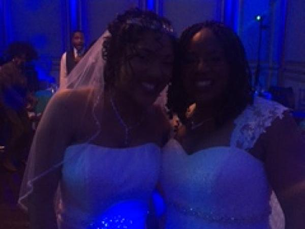 Congratulations Mrs. and Mrs.
