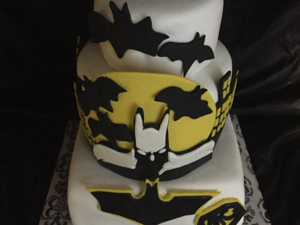 Tiered Character Cake